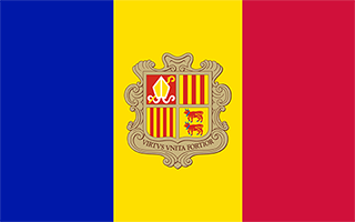 National Flag Andorra