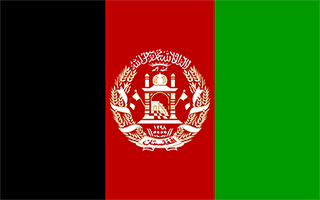 National Flag Afghanistan