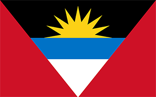 National Flag Antigua and Barbuda