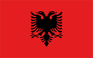 National Flag Albania