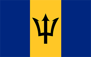 National Flag Barbados