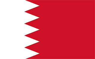 National Flag Bahrain