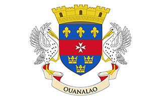 National Flag Saint Barthelemy