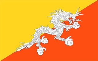 National Flag Bhutan