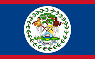 National Flag Belize