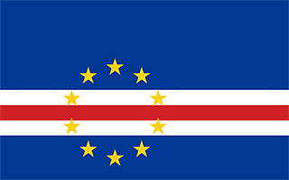 National Flag Cape Verde