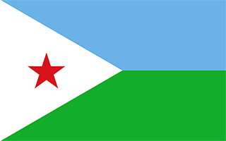 National Flag Djibouti