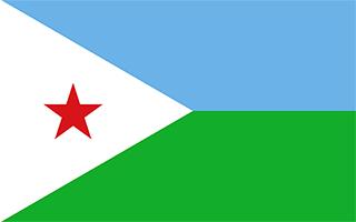 National Flag Djibouti