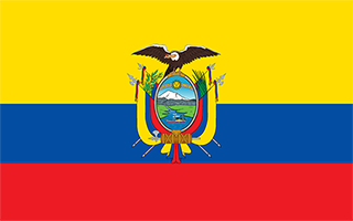National Flag Ecuador