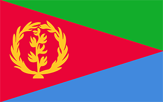 National Flag Eritrea
