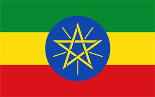 National Flag Ethiopia