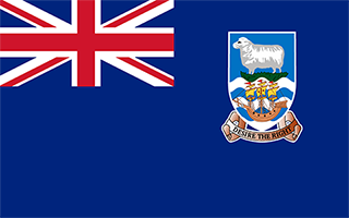 National Flag Falkland Islands