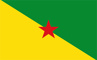 National Flag French Guiana