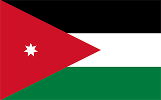 National Flag Jordan