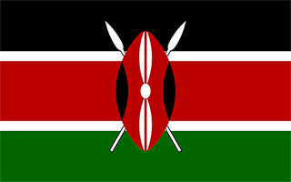 National Flag Kenya