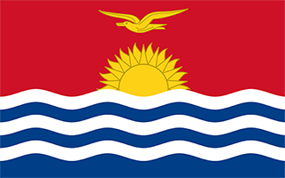 National Flag Kiribati