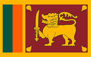 National Flag Sri Lanka