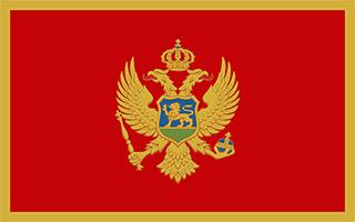 National Flag Montenegro