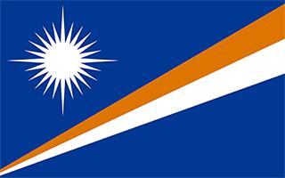 National Flag Marshall Islands