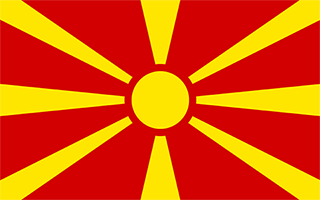 National Flag Macedonia