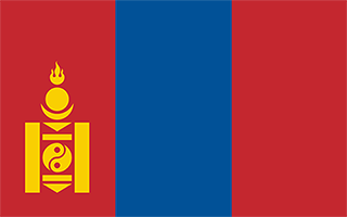 National Flag Mongolia