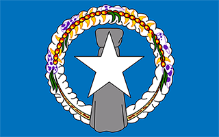 National Flag Northern Mariana Islands