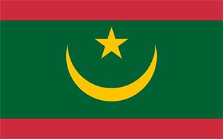 National Flag Mauritania