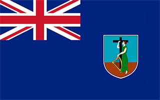 National Flag Montserrat