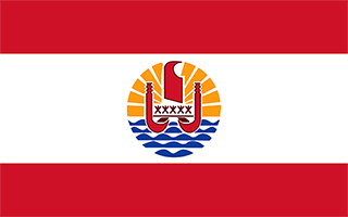 National Flag French Polynesia