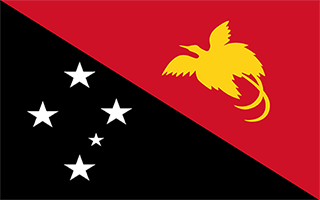 National Flag Papua New Guinea