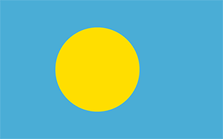 National Flag Palau