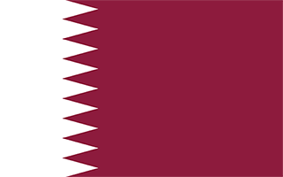 National Flag Qatar