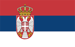 National Flag Serbia
