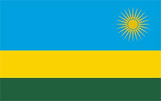 National Flag Rwanda