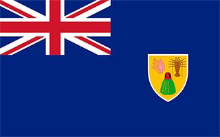 National Flag Turks and Caicos Islands