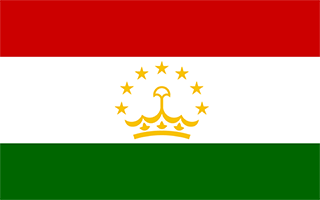 National Flag Tajikistan