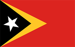 National Flag East Timor