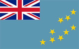 National Flag Tuvalu