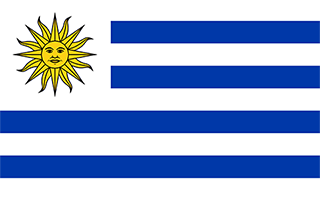 National Flag Uruguay