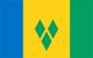 National Flag Saint Vincent and the Grenadines