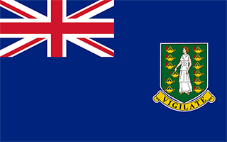 National Flag British Virgin Islands