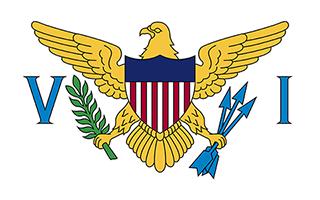 National Flag U.S. Virgin Islands
