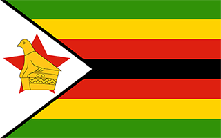 National Flag Zimbabwe