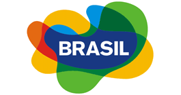 Official logo of Brazil tourism