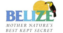 Official logo of Belize tourism