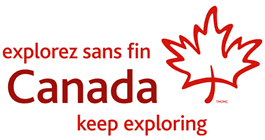 Official logo of Canada tourism