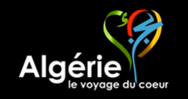 Official logo of Algeria tourism