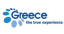 Official logo of Greece tourism